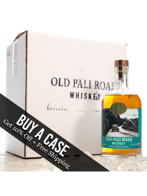 Case of Old Pali Road Whisky