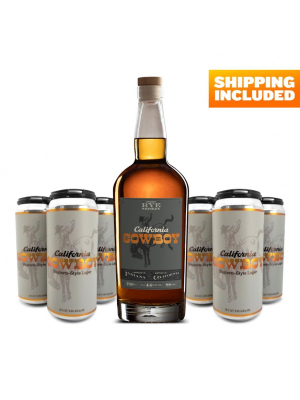 Bottle of Rye and Two 4-packs