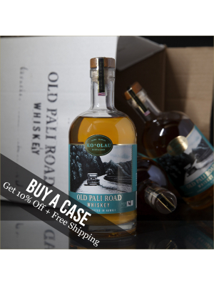 Case of Old Pali Road Whiskey