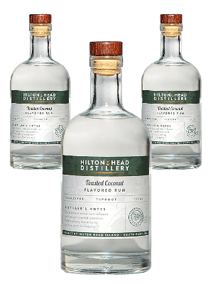 HHD Toasted Coconut Rum 3btl pack with FREE SHIPPING