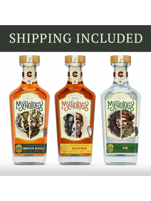 Whiskey & Gin Bundle: Hell Bear, Best Friend and Needle Pig Gin