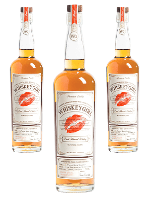 Peach Whiskey 3btl pack with FREE SHIPPING