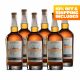 Six Bottles of Bourbon - 10% OFF Included
