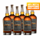 Six Bottles of Rye - 10% OFF Included